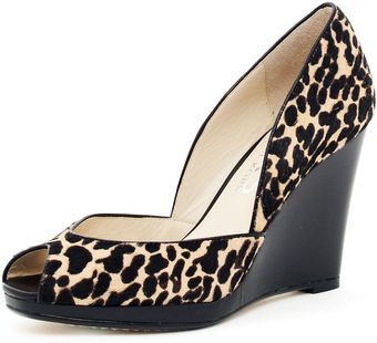 Michael Kors Korsvail Calf-hair Wedge - Lyst