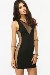 Nasty Gal Double Take Dress Black - Lyst