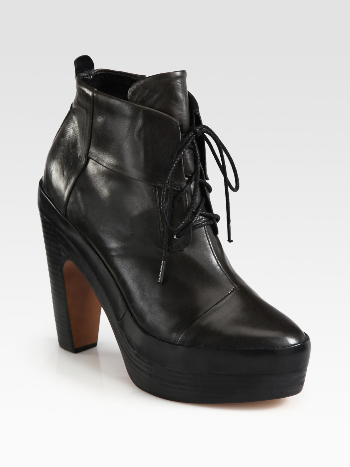 Rag & Bone Lace-Up Ankle Boots