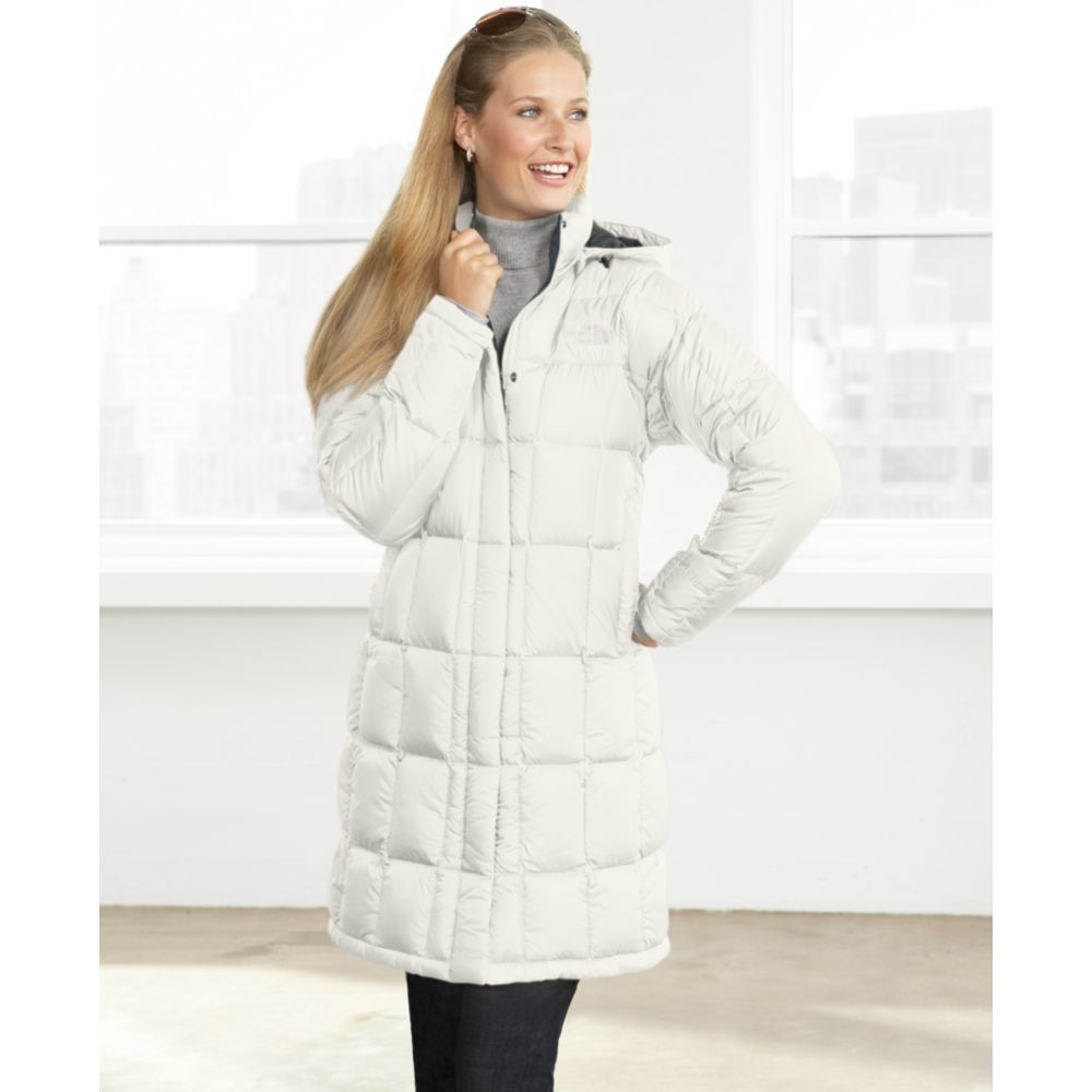 Lyst - The North Face Metropolis Parka in White 6e4740c75