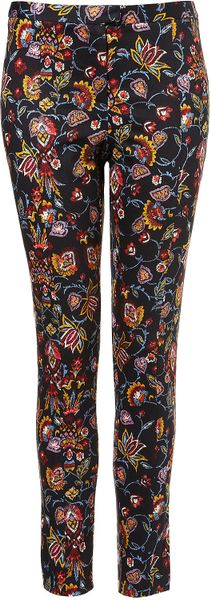 Topshop  Tapestry Trousers in Multicolor (multi)