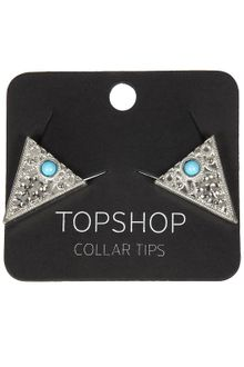 Topshop Collar Tips - Lyst