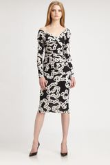 Diane Von Furstenberg Bentley Silk Jersey Dress - Lyst