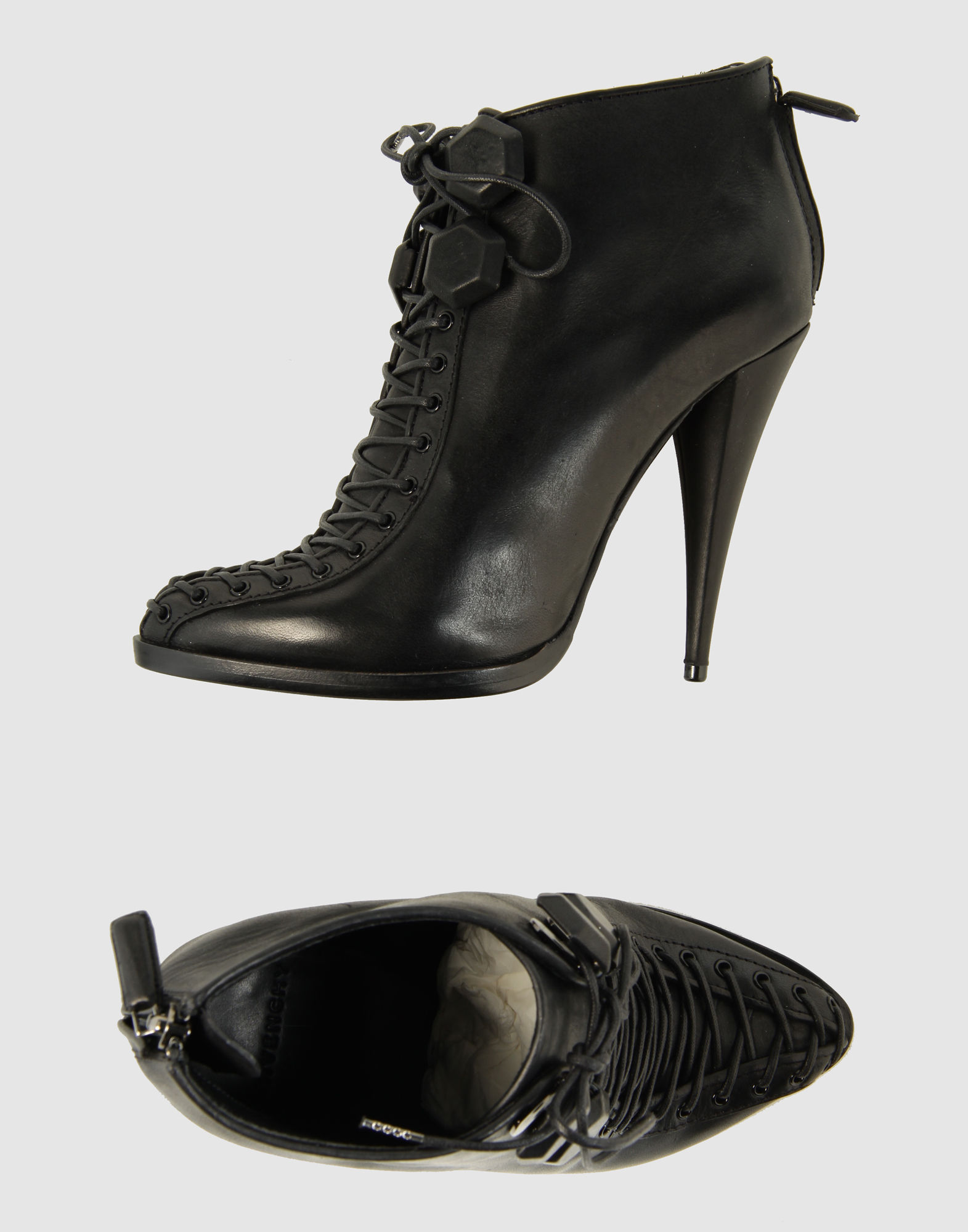 givenchy laced shoes in black lyst