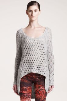 Helmut Lang Inherent Textured Sweater - Lyst