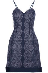 Lanvin Lace Dress - Lyst