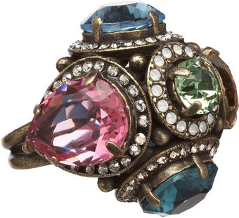 Lanvin Tutti Frutti Cocktail Ring - Lyst