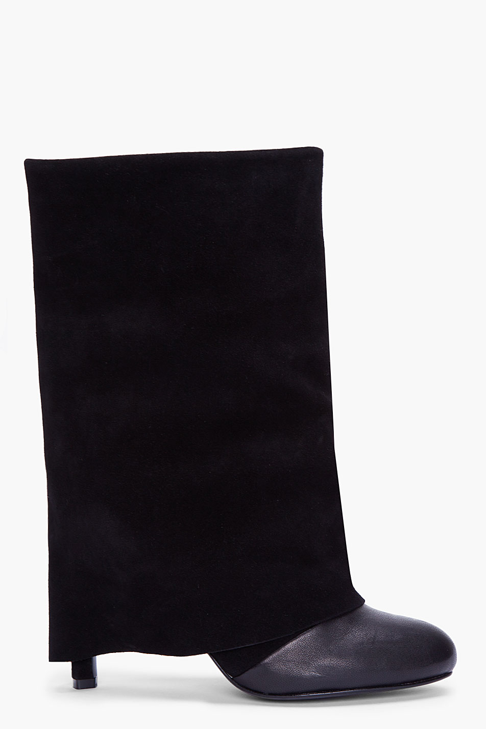 Lyst See By Chlo 233 Fold Over Heel Boot In Black