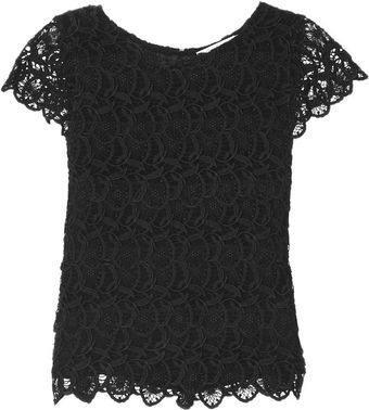 See By Chloé Tiered Lace Top - Lyst