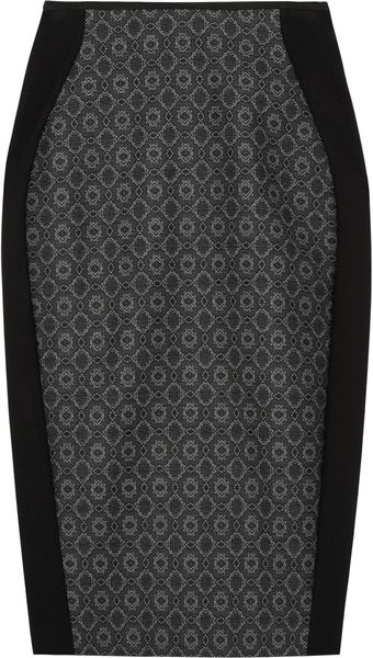 Stella McCartney Arden Jacquard Pencil Skirt - Lyst