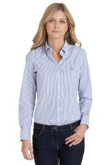 Brooks Brothers Noniron Tailored Fit Bengal Stripe Dress Shirt - Lyst