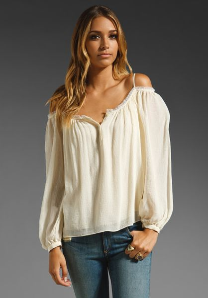 White Hippie Blouse 51