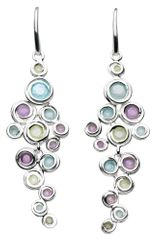 Kit Heath Honeycomb Gem Drop Earrings in Multicolor (multi-coloured) - Lyst