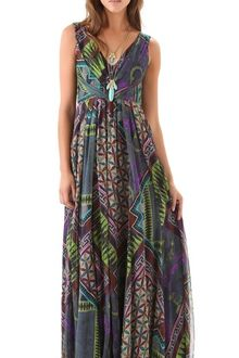 Matthew Williamson Tile Print Gown - Lyst