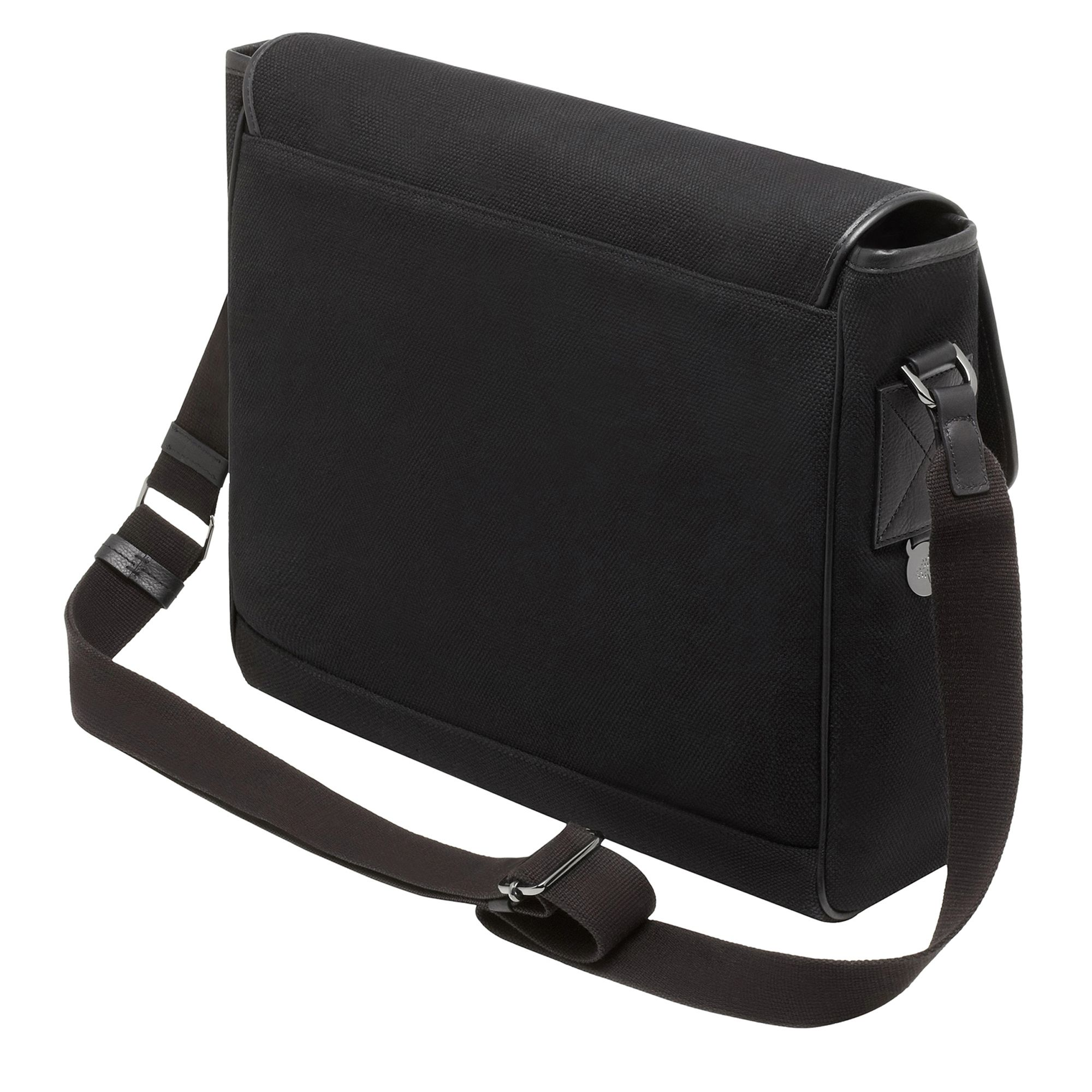 30b1e3b271 Mulberry Brynmore Canvas Messenger Bag in Black for Men - Lyst