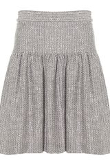 RED Valentino Bouclé Skirt - Lyst