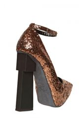 Aperlai 135mm Glitter Pumps - Lyst