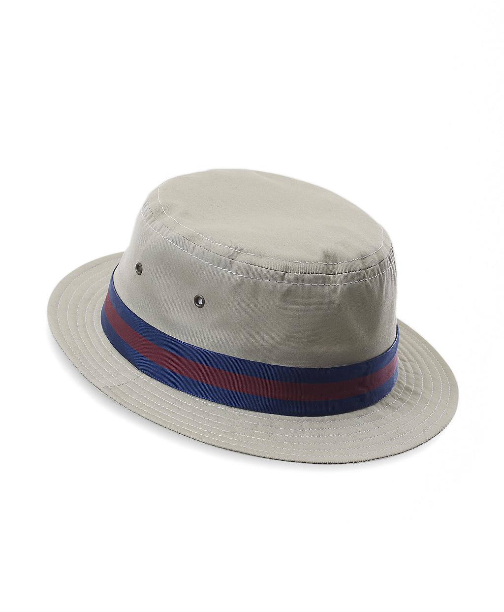 9f89b3c0dcf27 Brooks Brothers Poplin Bucket Hat in Natural for Men - Lyst