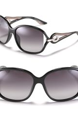 Dior Open Temple Oversized Sunglasses - Lyst