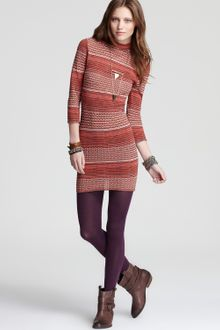 Free People Knit Dress Groovy - Lyst