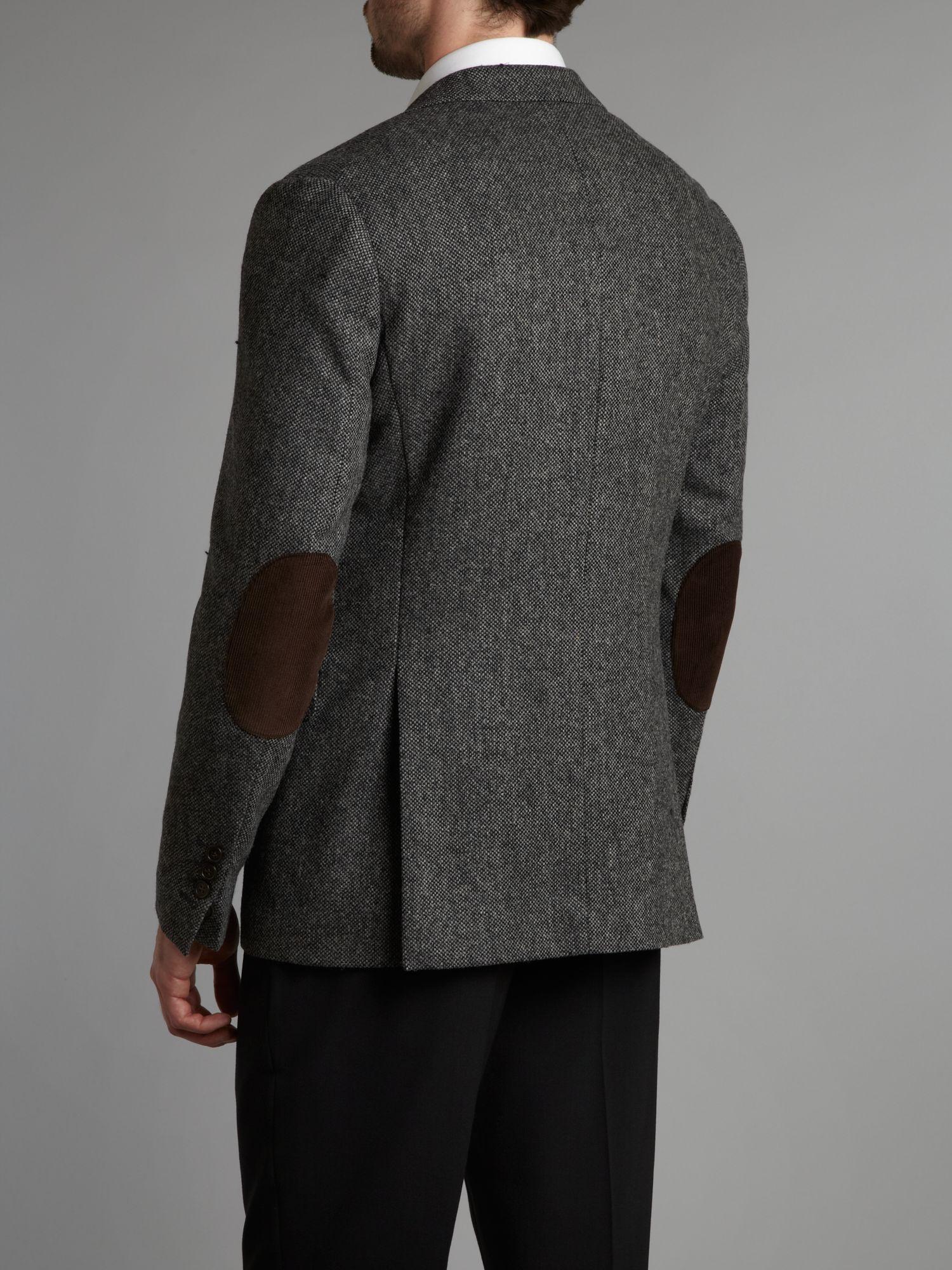 Gant Tweed Jacket in Gray for Men | Lyst