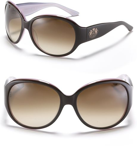 Juicy Couture The Legend Oversized Sunglasses in Brown ...