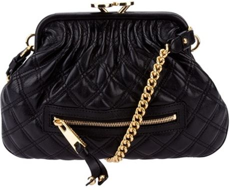 Marc Jacobs Little Stam Bag in Black - Lyst
