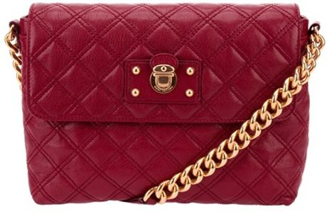Marc Jacobs Quilted Bag in Purple (bordeaux)