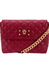 Marc Jacobs Quilted Bag in Purple (bordeaux) - Lyst