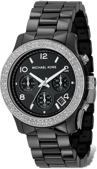 Michael Kors Michael Ceramic Glitzy Watch 39 Mm - Lyst