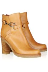Mulberry Leather Ankle Boots - Lyst