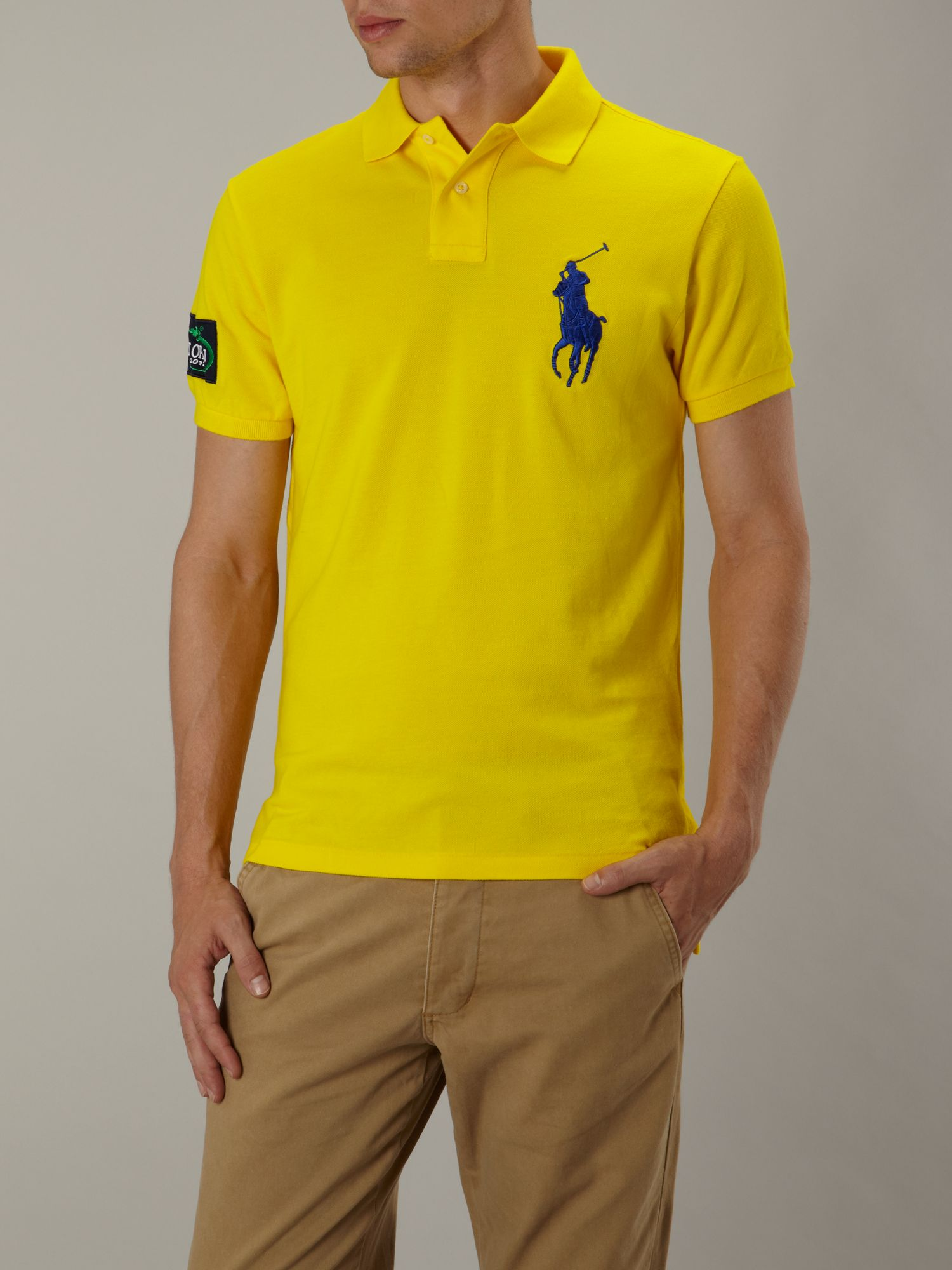 Polo Ralph Lauren Us Open Custom Fitted Big Pony Polo