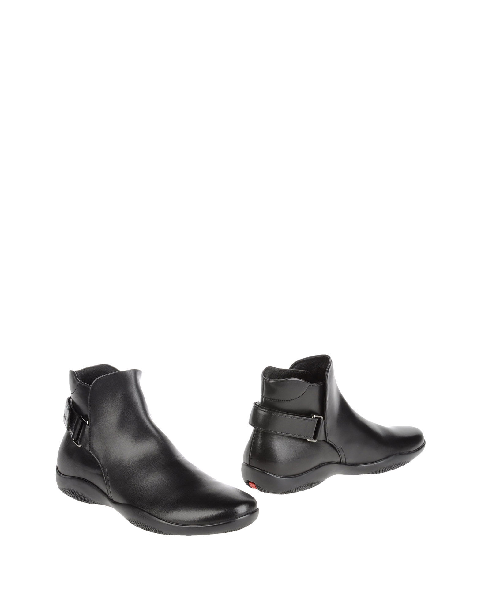 Prada Sport Ankle Boots In Black For Men Lyst