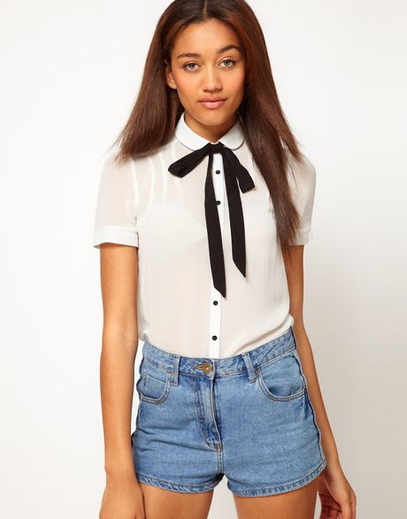 Bow Tied Blouse River Island