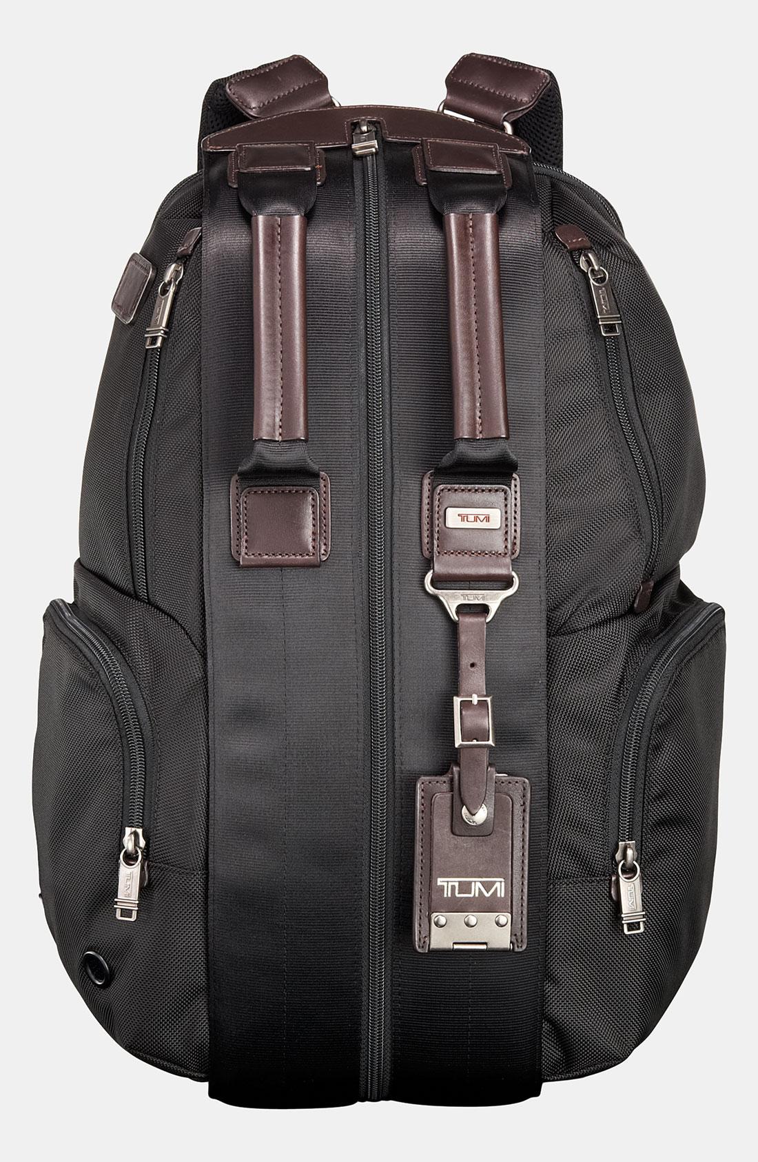 Tumi Alpha Bravo Travis Backpack In Black For Men Lyst