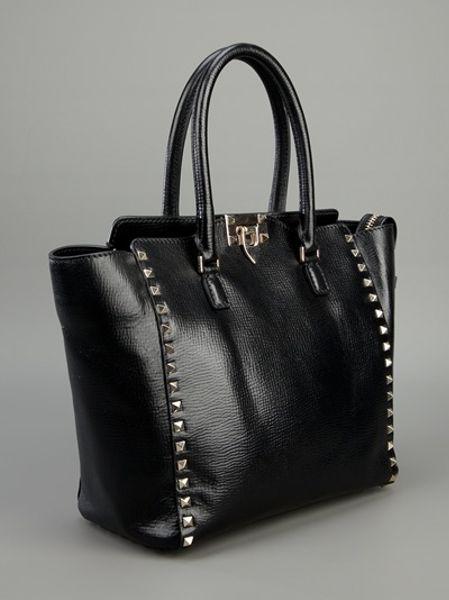 Valentino Bags Black Black Valentino Stud Bag