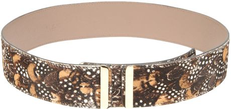 Valentino Belt in Brown - Lyst