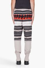 3.1 Phillip Lim Taupe French Terry Lounge Pants in Multicolor for Men (taupe) - Lyst