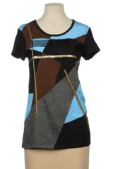 DKNY Short Sleeve T-shirt - Lyst