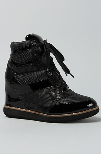 Jeffrey Campbell The Napoles Sneaker in Black Combo - Lyst