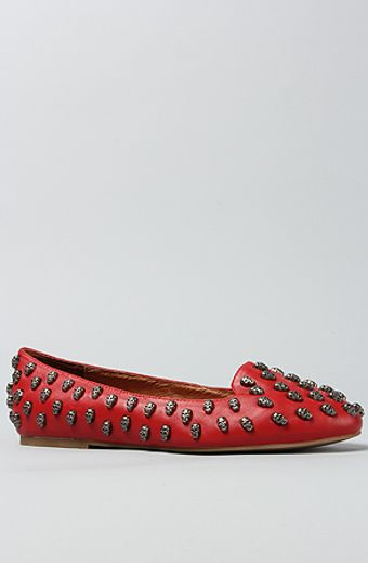 Jeffrey Campbell The Skulltini Shoe in Red and Pewter - Lyst