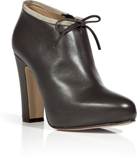 l autre chose grey platform ankle boots in gray grey lyst
