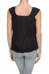 Liu Jo Top in Black - Lyst
