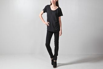 Oak Torque Tee Black - Lyst