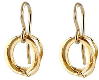 Peggy Li Clustered Circle Earrings Gf - Lyst