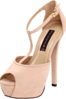 Steven By Steve Madden Womens Angels Tstrap Pump - Lyst