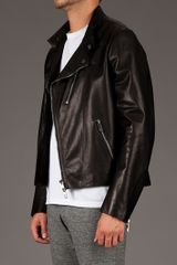 Valentino Classic Biker Jacket in Black for Men - Lyst