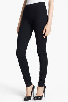 Donna Karan New York Collection Seamed Stretch Pants - Lyst