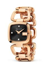 Gucci G 18k Pink Gold Pvd Bracelet Watch 24mm - Lyst