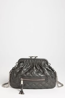 Marc Jacobs Little Stam Leather Crossbody Bag - Lyst